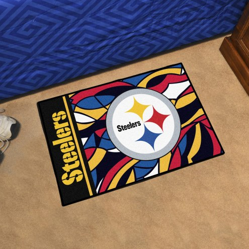 Pittsburgh Steelers Quicksnap Starter Rug