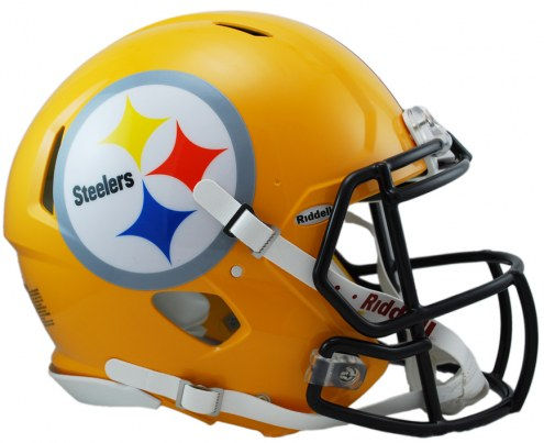 Pittsburgh Steelers Riddell Speed Full Size Authentic Gold Football Helmet