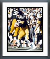 Pittsburgh Steelers Rocky Bleier Super Bowl X 1976 Action Framed Photo