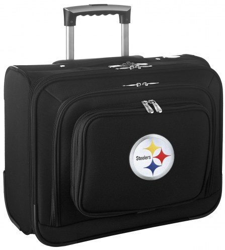 Pittsburgh Steelers Rolling Laptop Overnighter Bag