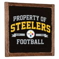Pittsburgh Steelers Vintage Wall Art