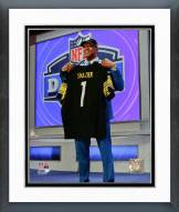 Pittsburgh Steelers Ryan Shazier NFL Draft #15 Draft Pick Framed Photo