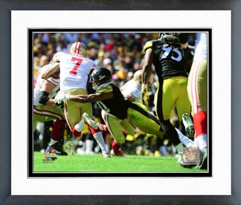 Pittsburgh Steelers Ryan Shazier Action Framed Photo