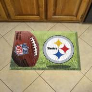 Pittsburgh Steelers Scraper Door Mat