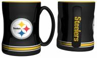 Pittsburgh Steelers Sculpted Relief Coffee Mug