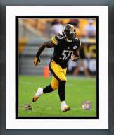 Pittsburgh Steelers Sean Spence Action Framed Photo
