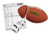 Pittsburgh Steelers Shake N' Score Travel Dice Game
