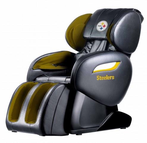 Pittsburgh Steelers Shiatsu Zero Gravity Massage Chair