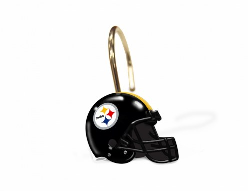 Pittsburgh Steelers Shower Curtain Rings