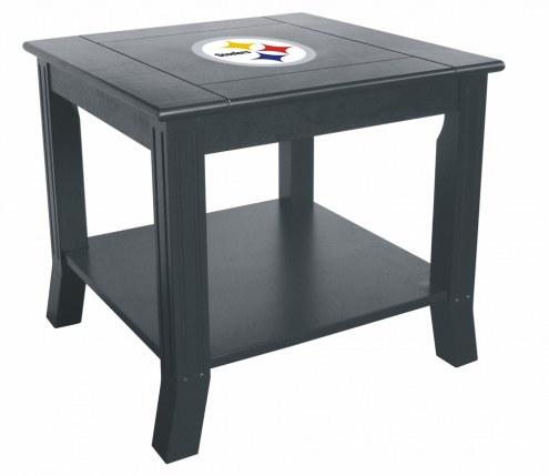 Pittsburgh Steelers Side Table