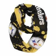 Pittsburgh Steelers Silky Infinity Scarf