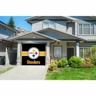 Pittsburgh Steelers Single Garage Door Cover