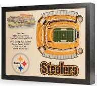 Pittsburgh Steelers 25-Layer StadiumViews 3D Wall Art
