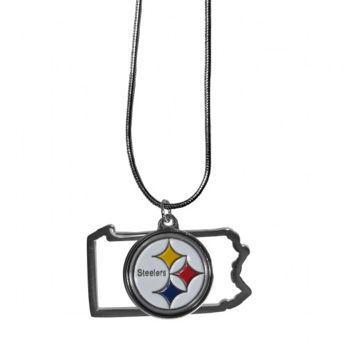 Pittsburgh Steelers State Charm Necklace
