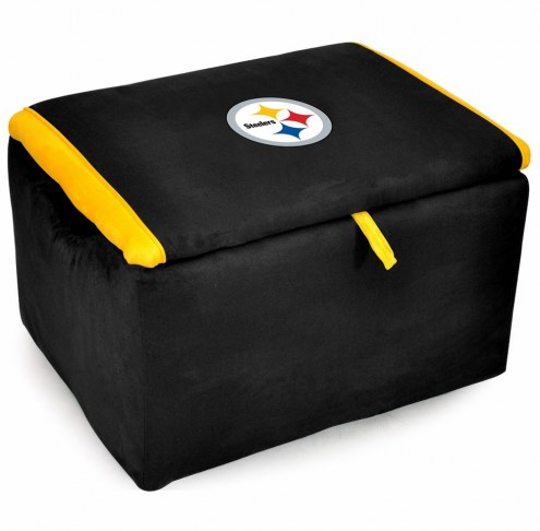 Pittsburgh Steelers Storage Bench