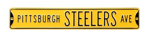Pittsburgh Steelers Street Sign