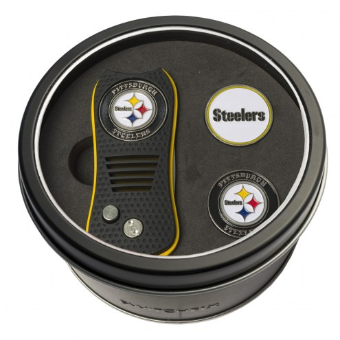 Pittsburgh Steelers Switchfix Golf Divot Tool & Ball Markers