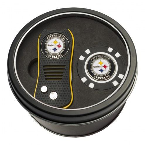 Pittsburgh Steelers Switchfix Golf Divot Tool & Chip