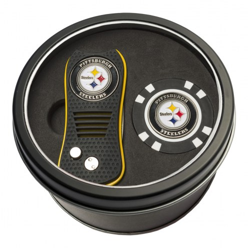 Pittsburgh Steelers Switchfix Golf Divot Tool & Chip