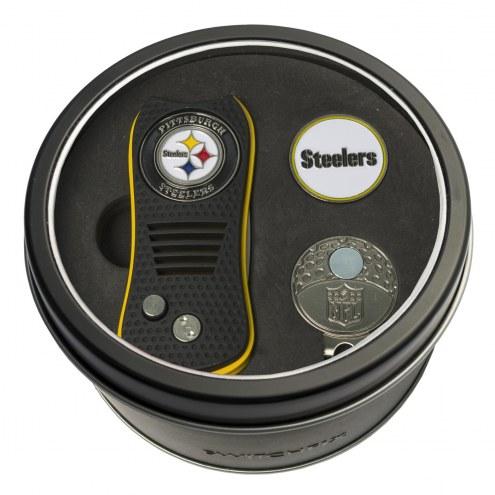 Pittsburgh Steelers Switchfix Golf Divot Tool, Hat Clip, & Ball Marker