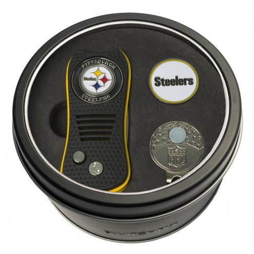 Pittsburgh Steelers Switchfix Golf Divot Tool, Hat Clip, & Ball Marker