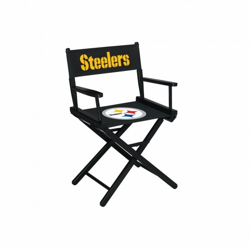Pittsburgh Steelers Table Height Director's Chair
