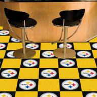 Pittsburgh Steelers Team Carpet Tiles