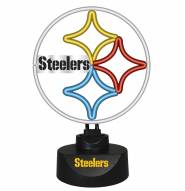 Pittsburgh Steelers Team Logo Neon Lamp