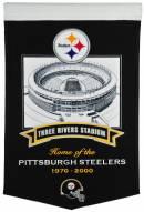 Pittsburgh Steelers Three Rivers Stadium Banner