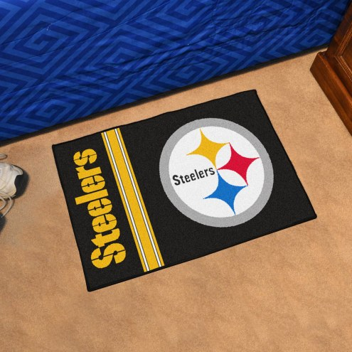 Pittsburgh Steelers Uniform Inspired Starter Rug