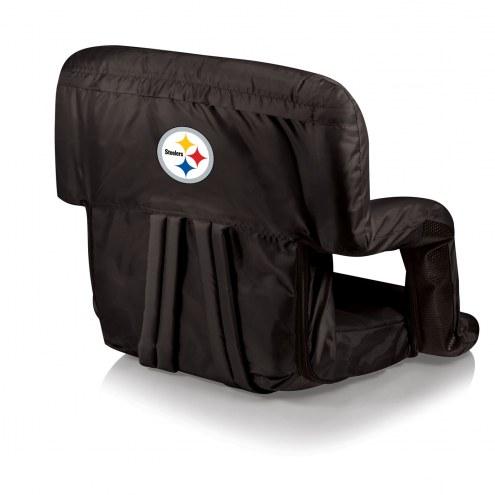 Pittsburgh Steelers Ventura Portable Outdoor Recliner