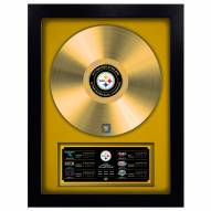 Pittsburgh Steelers Vinyl Gold Record