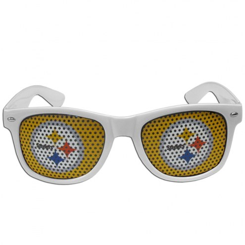 Pittsburgh Steelers White Game Day Shades