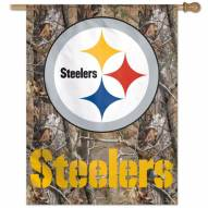 "Pittsburgh Steelers 27"" x 37"" Banner"