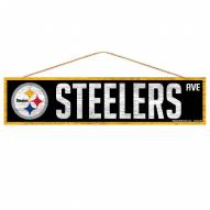 Pittsburgh Steelers Wood Avenue Sign