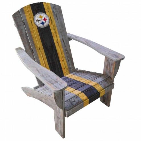 Pittsburgh Steelers Wooden Adirondack Chair