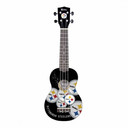 Pittsburgh Steelers Woodrow Denny Ukulele