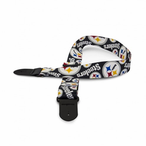 Pittsburgh Steelers Woodrow Guitar Strap