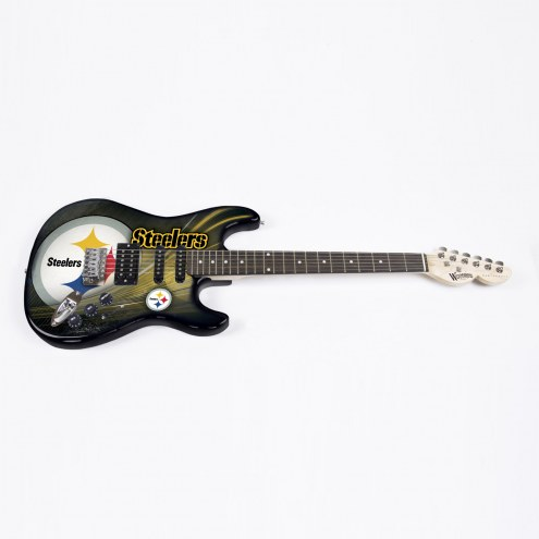 Pittsburgh Steelers Woodrow Northender Electric Guitar