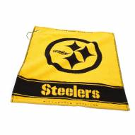 Pittsburgh Steelers Woven Golf Towel