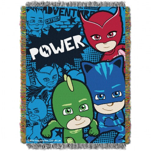 PJ Mask Power Trio Throw Blanket