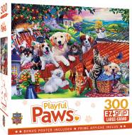 Playful Paws A Lazy Afternoon 300 Piece EZ Grip Puzzle