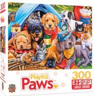 Playful Paws Camping Buddies 300 Piece EZ Grip Puzzle