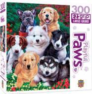 Playful Paws Fluffy Fuzzballs 300 Piece EZ Grip Puzzle