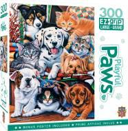 Playful Paws Hide and Seek 300 Piece EZ Grip Puzzle