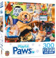 Playful Paws Home Wanted 300 Piece EZ Grip Puzzle