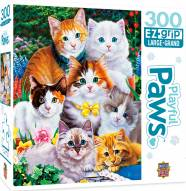 Playful Paws Puuurfectly Adorable 300 Piece EZ Grip Puzzle