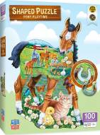 Pony Playtime 100 Piece Shaped Puzzle