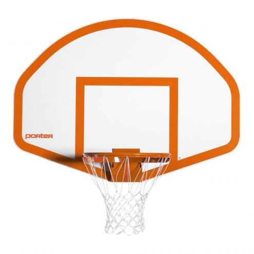 """Porter 54"""" x 39"""" Fiberglass Fan Basketball Backboard"""