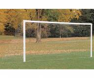 Porter 6.5' x 18' Stationary Youth Aluminum Soccer Goals